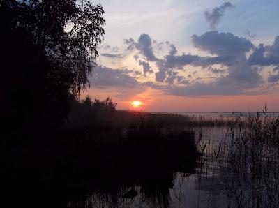Кедроозеро закат