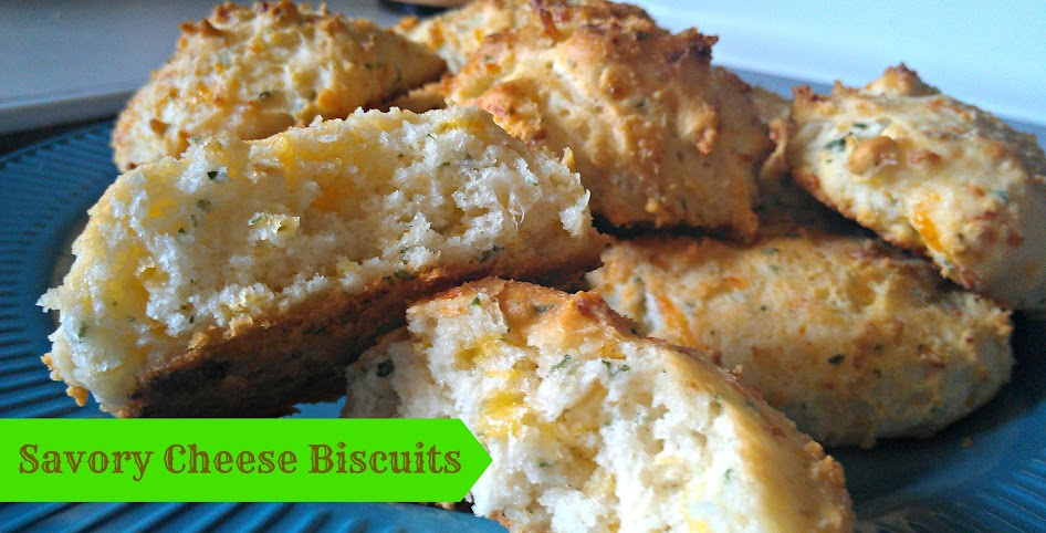 "Savory Cheese Biscuit Recipe from Gooseberry Patch's ""Weeknight Dinners"""