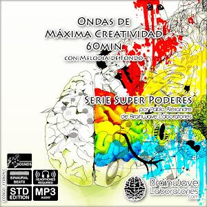 Ondas de maxima creatividad con melodia de fondo 60min