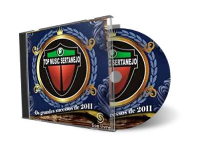 Top Music Sertanejo   Os Grandes Sucesso de 2011