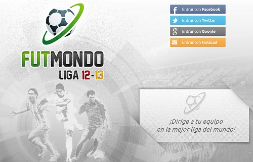Futmondo, juego de fútbol online donde puedes ser un manager de la liga bbva