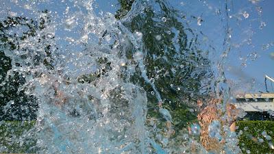 Xperia Z en la piscina