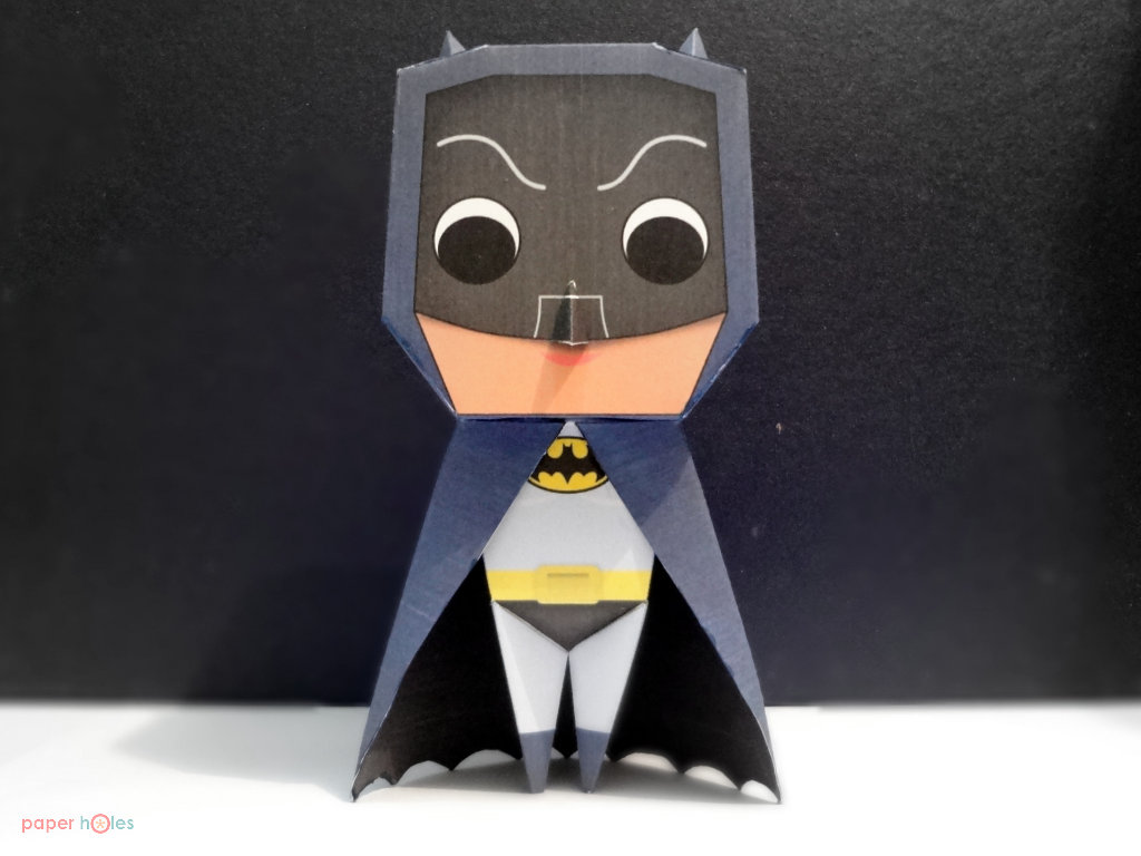 Classic Batman Papertoys