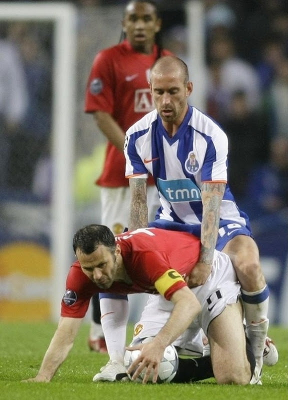 Ryan Giggs Sex Scandal On Field, Funny Picture