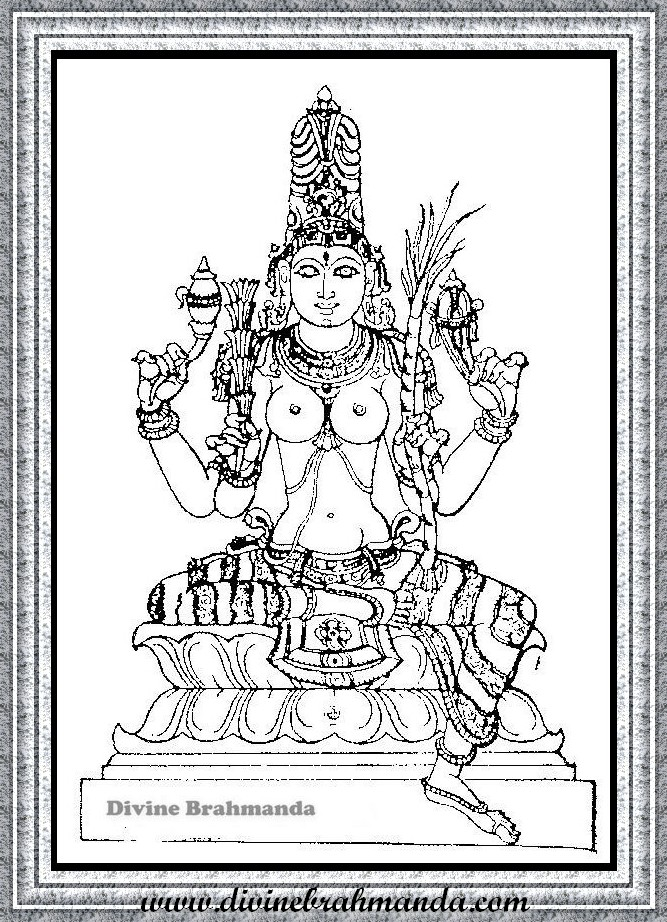 Soundarya Lahari Sloka, Yantra & Goddess For Getting Higher Posts And Power - 25