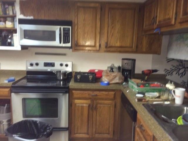Essentiallyerika diy kitchen cabinets for Take away kitchen units