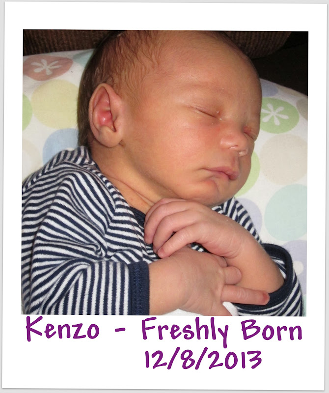 Happy 1st Birthday from Spirit of Life to Kenzo