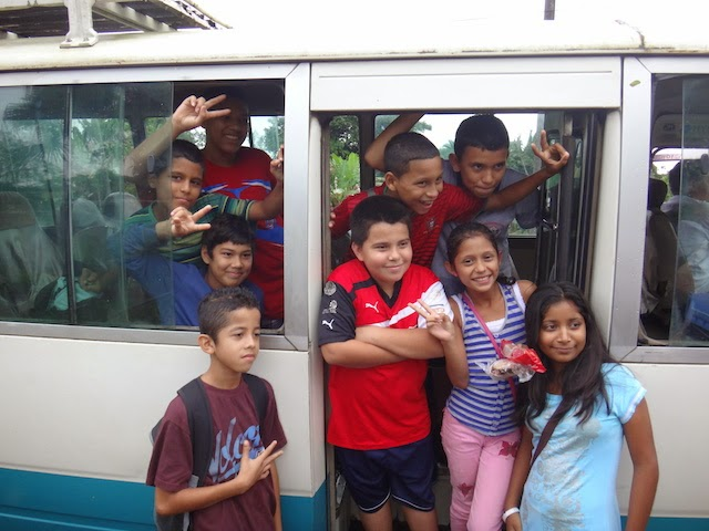 School kids in Costa Rica. #StudyAbroadBecause the world gets smaller each time you do!
