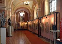 The exposition of Ivano-Frankivsk art Museum