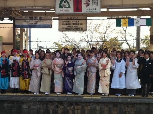 石川県のレディ・カガ、観光客誘致のPRを開始(動画あり)