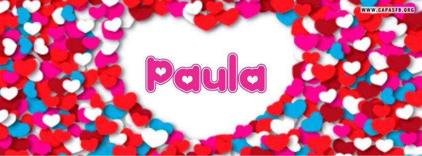 Capas para Facebook Paula