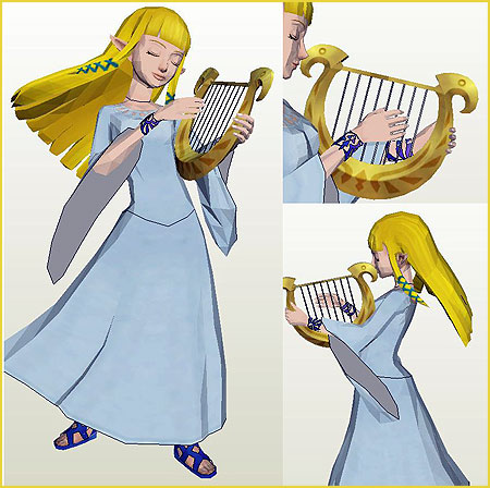 Skyward Sword - Zelda Papercraft