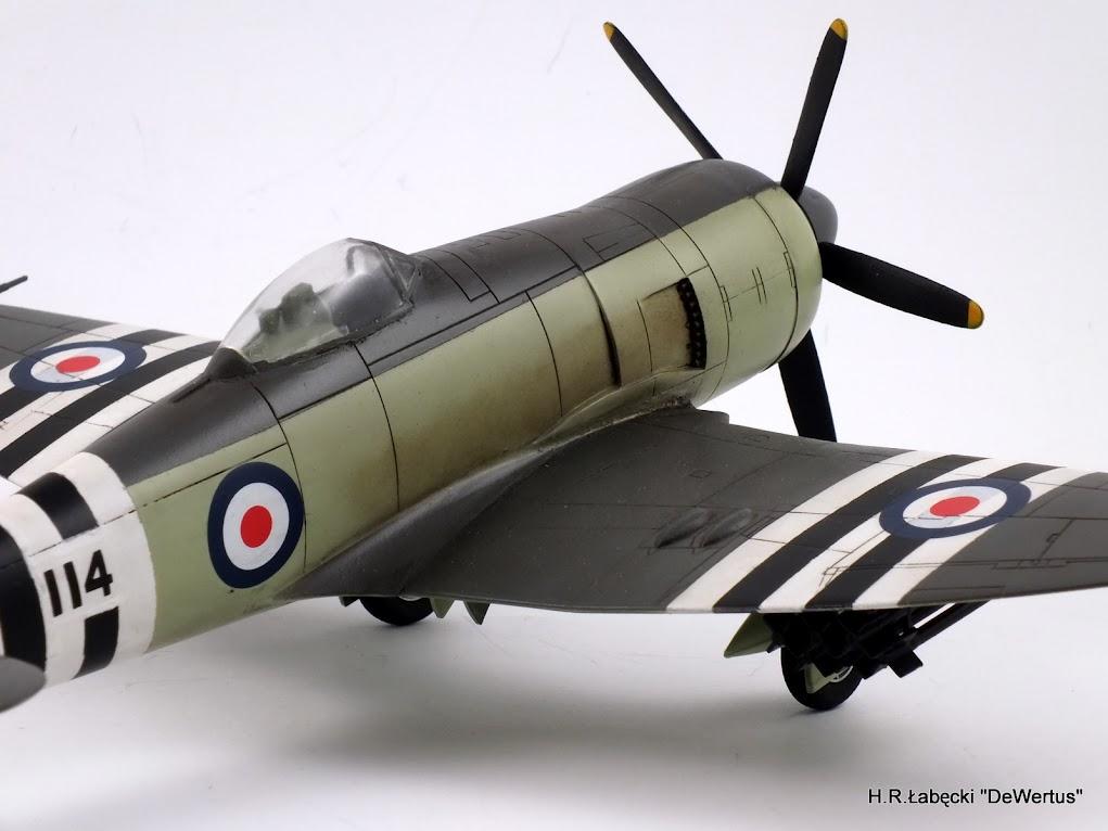 Korea 1950-53; Sea Fury FB.11, KITECH 1/48 DSCF3968