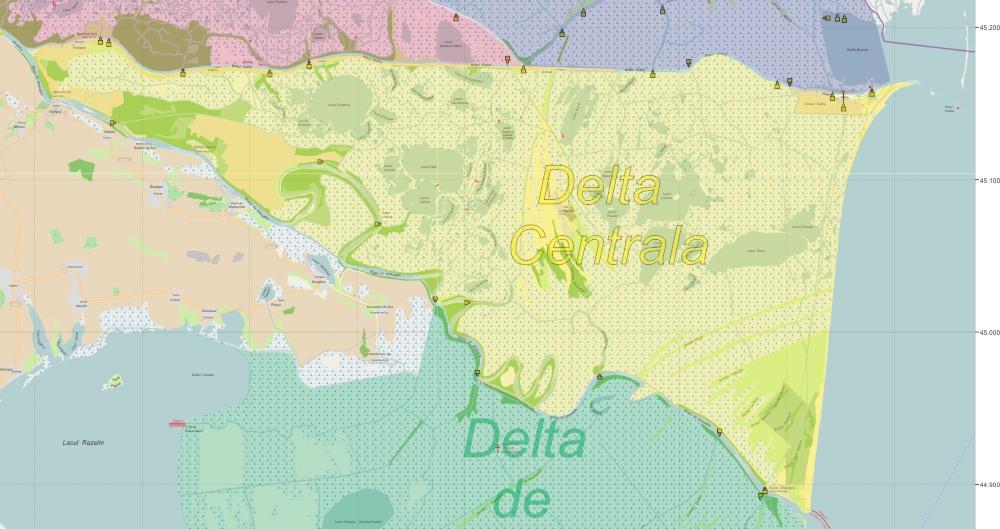 Delta Centrala