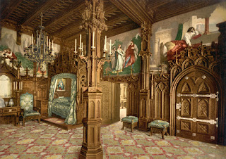 Neuschwanstein Castle interior