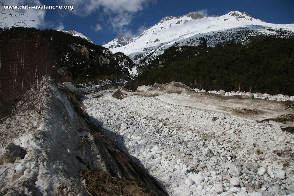 Avalanche Vanoise, secteur Dent Parrachée, Ruisseau de Bonne Nuit - Face Sud-Est - Photo 1