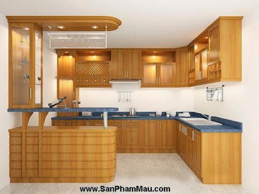 Các mẫu tủ bếp gỗ công nghiệp-3