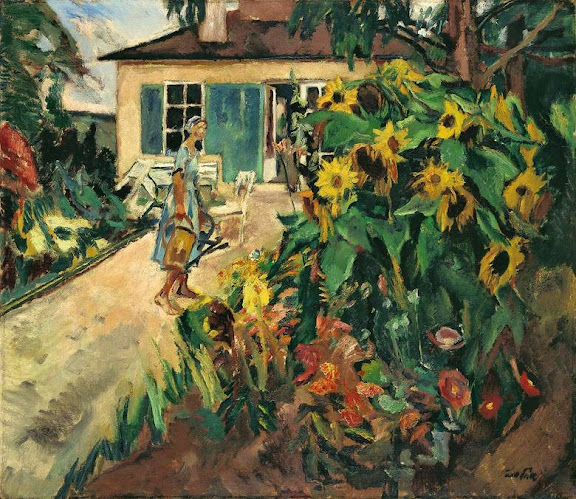 Leo Putz – Mein Garten (Gauting). 1926
