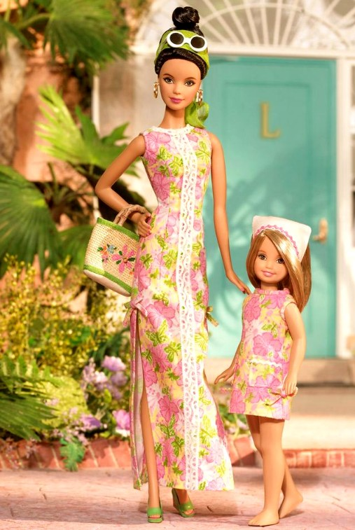 Lilly Pulitzer Set: Barbie & Stacie