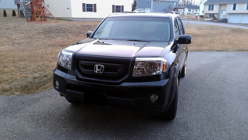 Plasti-dip blacked out 2012 front grill - Page 2 - Honda ...