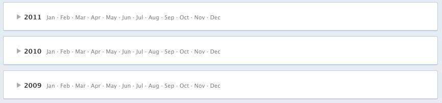 στο facebook timeline μπορείς να προβάλλεις ή να αποκρύψεις όποιες πληροφορίες θέλεις εύκολα
