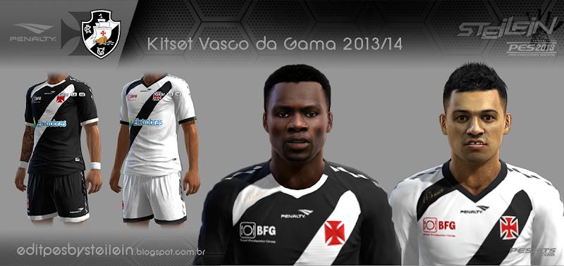 Vasco da Gama 2013-14 Kitset - PES 2013