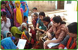 Survey at Dholpur to determine livelihood options under RRLP