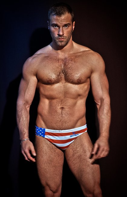 Incredible Muscular Hairy Chest Hunks - 2