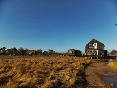 Walberswick houses on stilts proving a sensible way to escape the floods