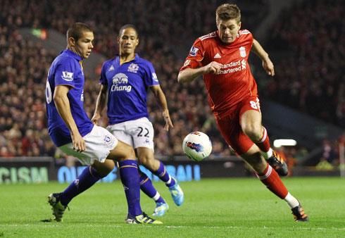 Steven Gerrard, Liverpool - Everton