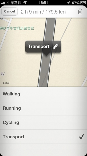 Moves App 地點編輯