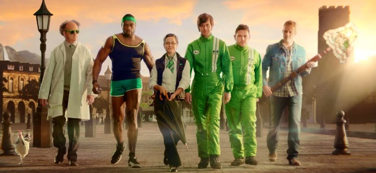 "Gocompare.com and Fold7 Debut New Advert ""Go Go Power"" — Meet the whole team."