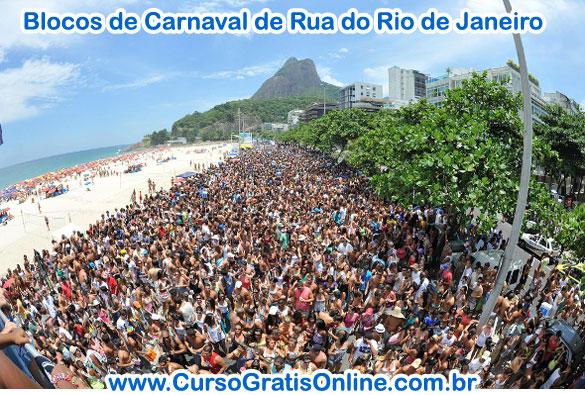 Blocos de Carnaval 2013 Rio de Janeiro