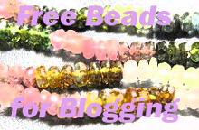 Free Beads for Blogging. Contact: fusionmuseoffice@gmail.com