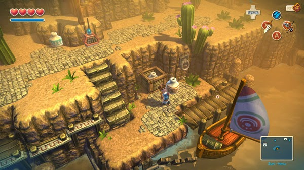 Oceanhorn Monster of Uncharted Seas - Game Screenshot