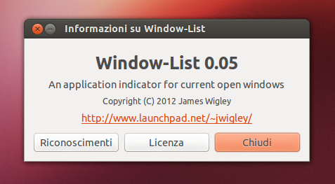Window List 0.5 su Ubuntu