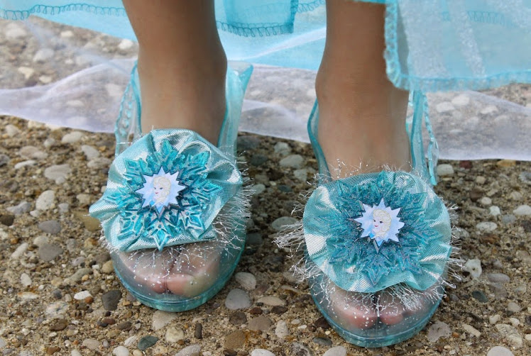 Disney Frozen Elsa Costume: Elsa Shoes