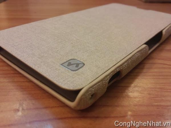 Bao da cho Sony Xperia Z1 (SO-01F) HoCo loại sần