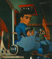 Scott Tracy aboard Thunderbird 1