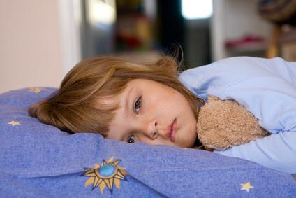 Niños con problemas al dormir