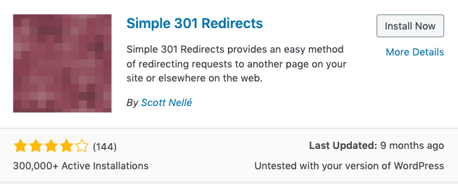 Simple 301 on Redirects on WordPress 301,302,404的差異及對SEO的影響
