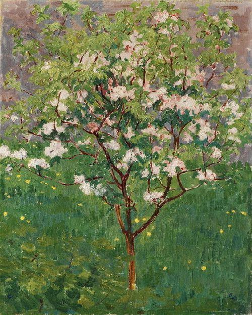 Giovanni Giacometti - Pomo fiorito