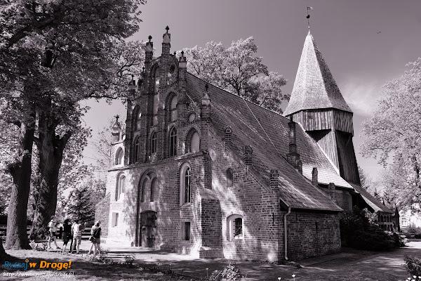 kościół w Kmiecinie na Żuławach