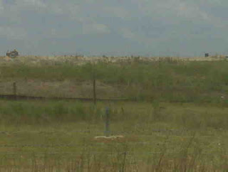 Telfair Subtitle D landfill. Methane well MM-9? in foreground.