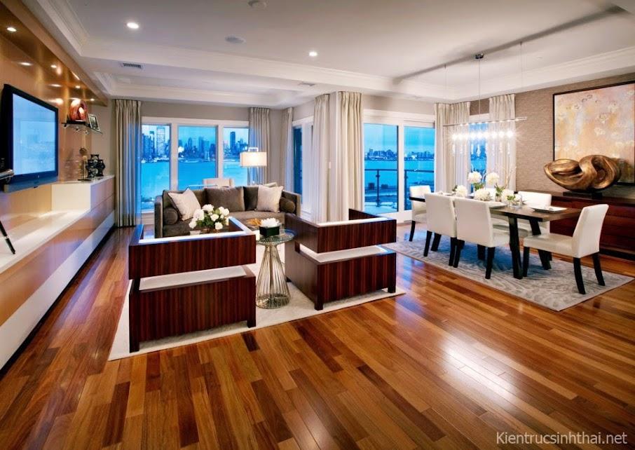 Mẫu thiết kế căn hộ chung cư