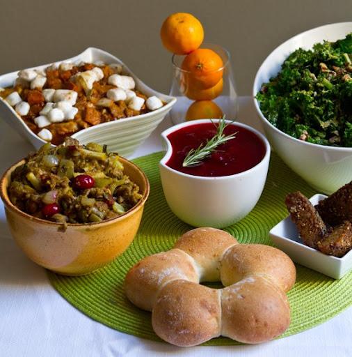 thanksgiving 2011 images. Healthy, Happy Vegan Thanksgiving 2011!
