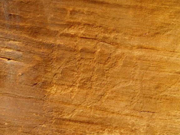 Petroglyphs in Cottonwood Wash