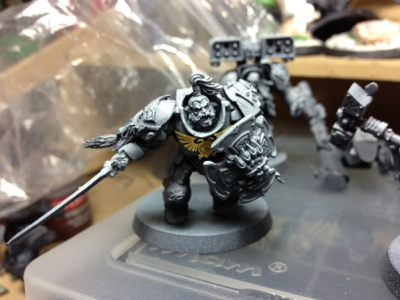 Space Wolf Terminator Conversion