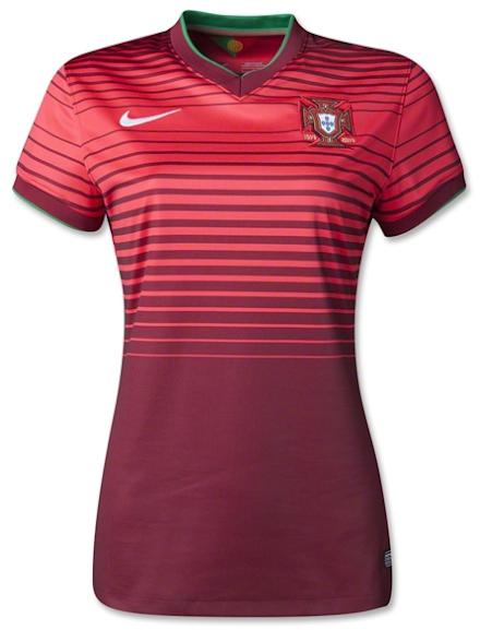 Jual Jersey Wanita Portugal Home Piala Dunia 2014