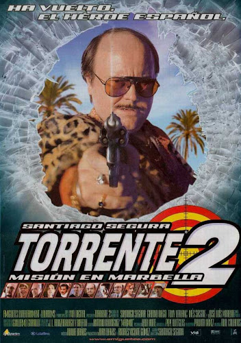 Torrente 2, cartel